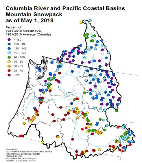 Snowpack bodes well, for some | Northwest Power and