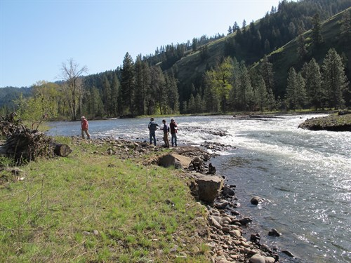 Meacham Creek , People